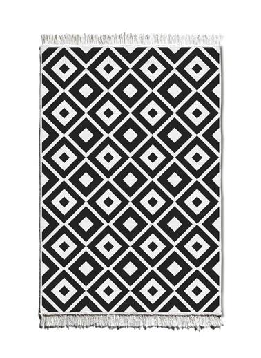 Morhipo Home Çift Taraflı Kilim 80x120 cm Siyah